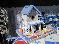 Sandy's birdhouse