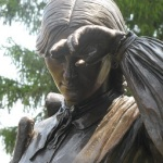 Woman Statue.Jane