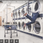 Laundry machines and legs