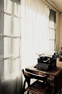 typewriter nead window
