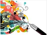 Fountain pen w color